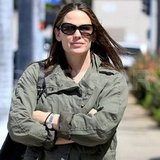 Jennifer Garner smiled while out in LA.