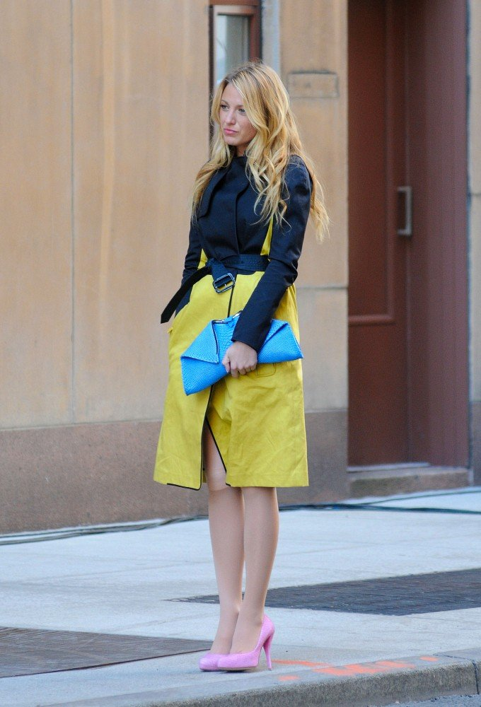 Blake Lively filmed Gossip Girl on the Upper West Side in NYC.