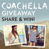 Share Your Festival-Inspired Photos on Instagram to Win Coachella Tickets!