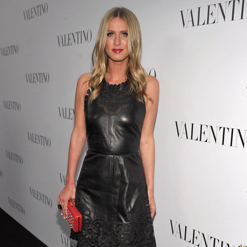 Celebs at Valentino Beverly Hills Opening (Interview)