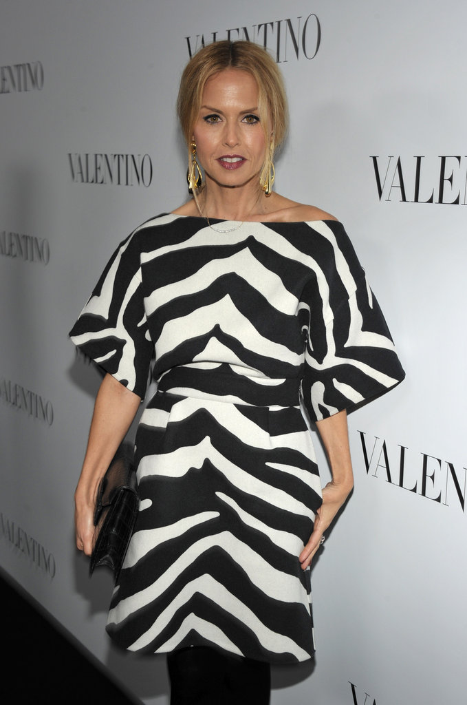Rachel Zoe attended Valentino's 50th anniversary party in LA.