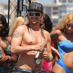 Shirtless James Franco Shooting Spring Breakers Pictures Tuesday evening to adults