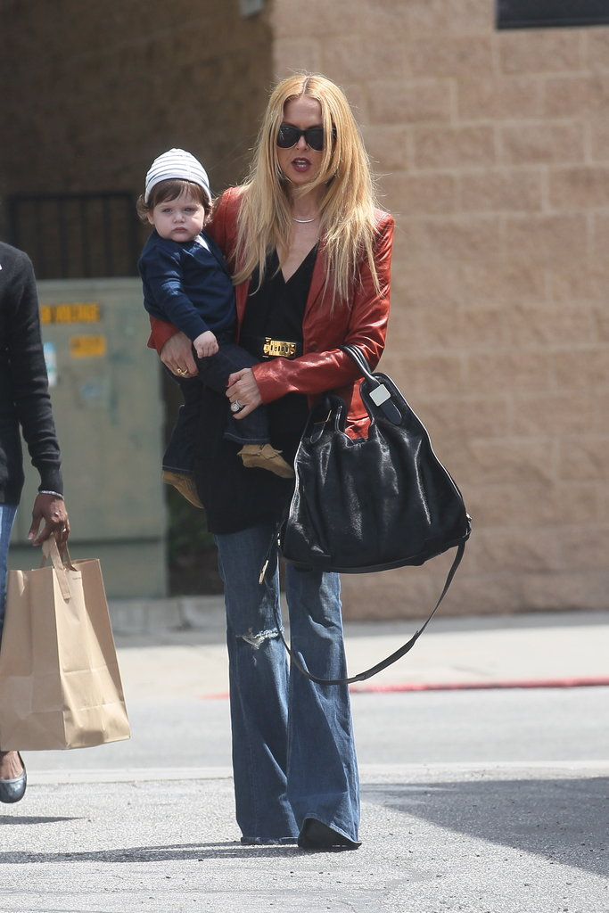 Rachel Zoe Spends the Day With Skyler Following a Stylish Soirée