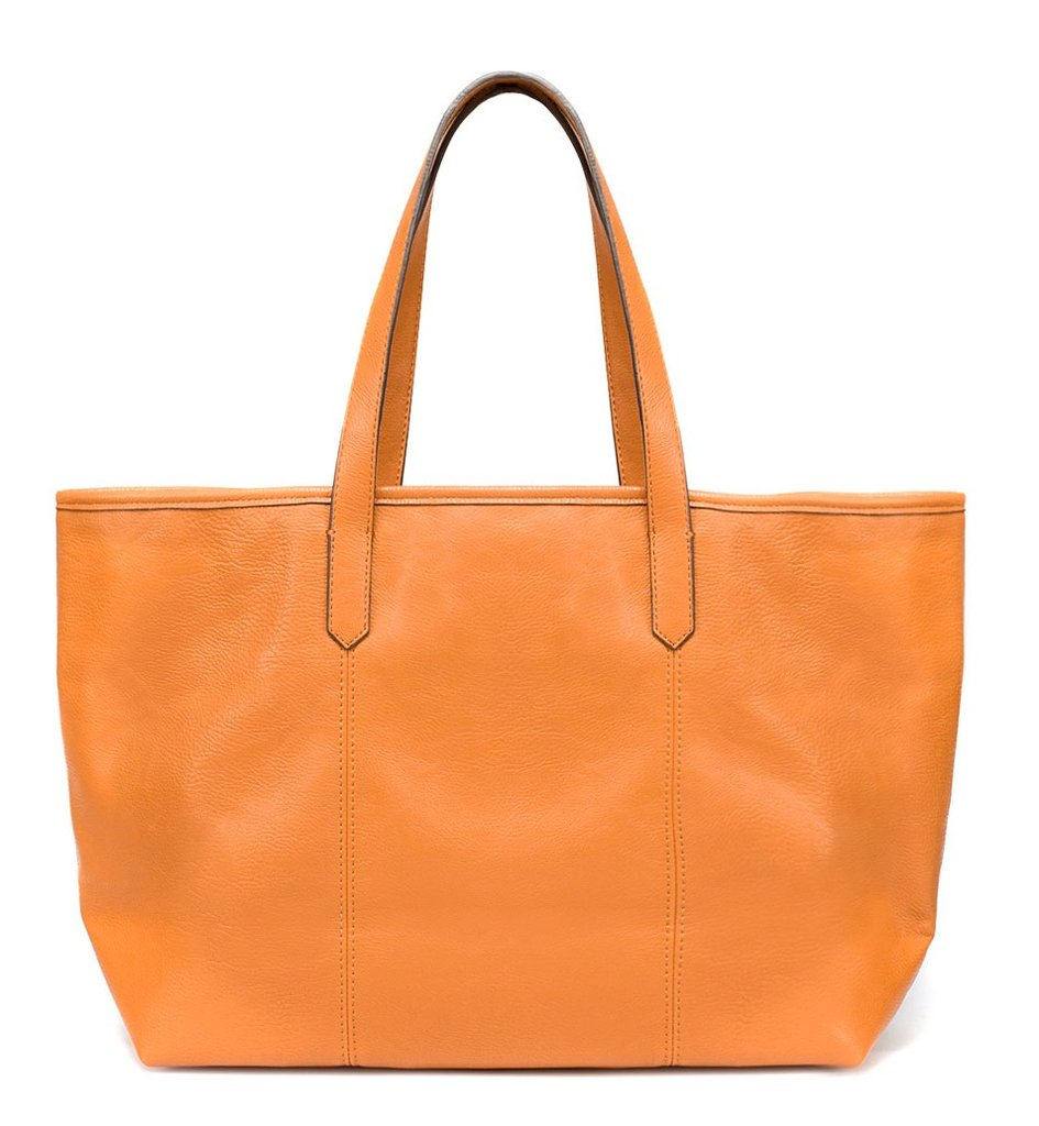 Here's a bold alternative to your run o' the mill canvas tote. Zara Colorful Shopper ($30)