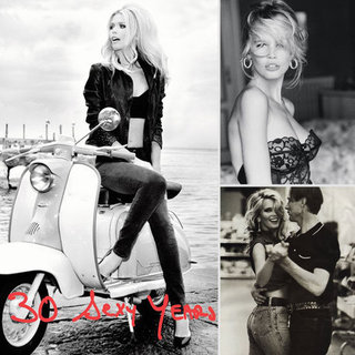 Claudia Schiffer Guess 30th Anniversary Ads