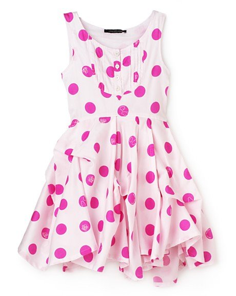 Little Marc Jacobs Leighton Two Exploded Dot Dress ($136)