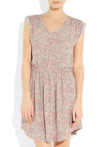 Rebecca Taylor|Floral-print crepe mini dress|NET-A-PORTER.COM
