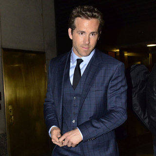 Ryan Reynolds Pictures at a Hugo Boss Event