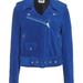 Remember that gorgeous blue suede jacket Hanneli Mustaparta wore during NYFW? Well, this is it. 