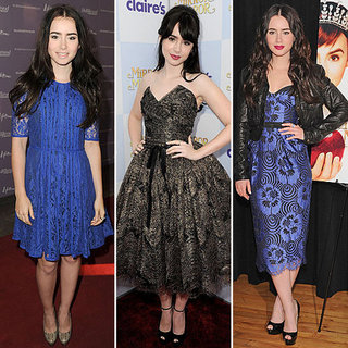 Lily Collins Red-Carpet Dresses