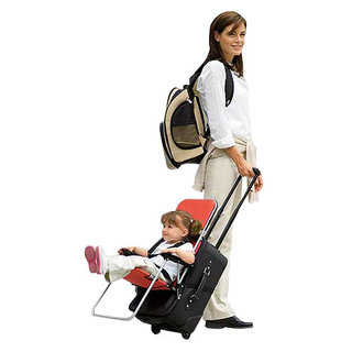 Ride-On Carry-On For Kids Airport Travel