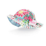 Mud Pie Lily Pad Floral Sun Hat