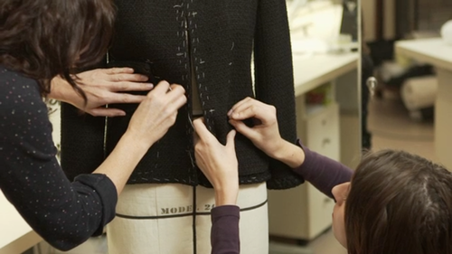 Watch — How Chanel Makes Its Little Black Jackets