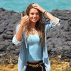 Indiana Evans and Brenton Thwaites Pictures Filming Blue Lagoon Remake in Maui