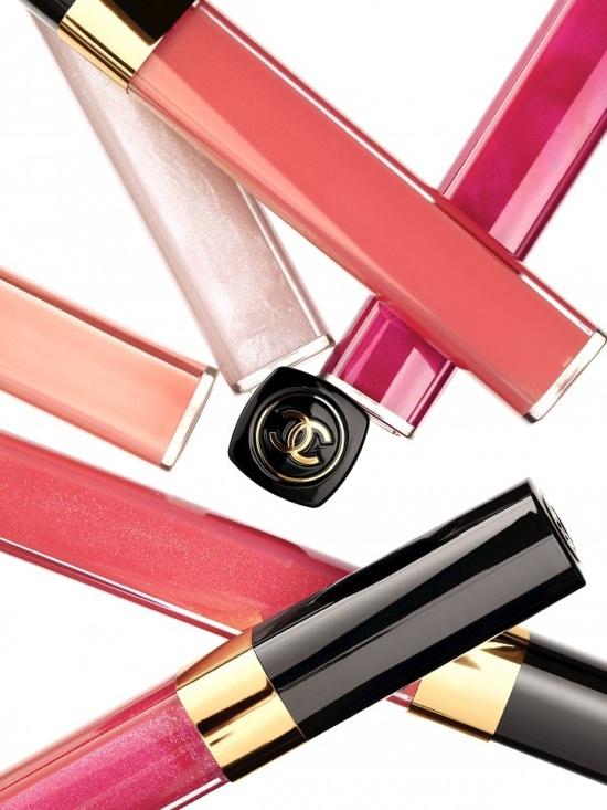 Lèvres Scintillantes de Chanel Spring 2012 Ad Campaign - Merethe Hopland