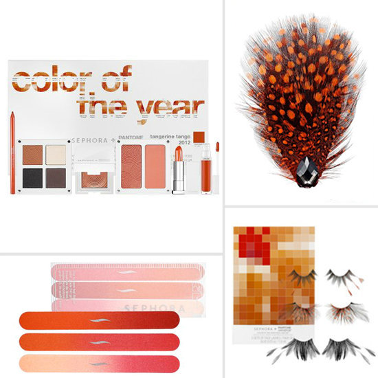 Updated! See Sephora's New Pantone Tangerine Tango Collection