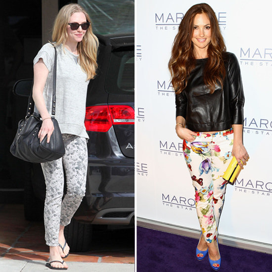 Amanda and Minka Inspire a Search For the Top 6 Floral Jeans
