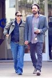 Jennifer Garner and Ben Affleck held hands during a day out in LA.
