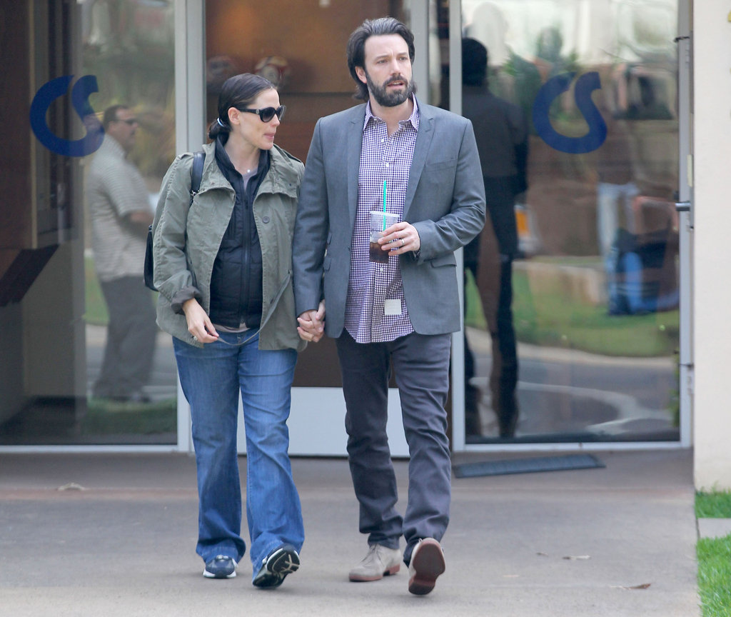 Ben Affleck and Jennifer Garner Hold Hands During a Couple's Day Out