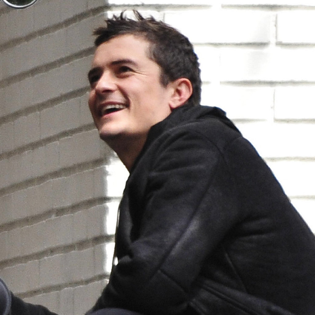 Orlando Bloom out in LA.