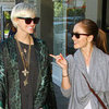 Ashlee Simpson and Minka Kelly Shopping in Sydney Pictures