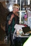 Ashlee Simpson browsed a store in Sydney.