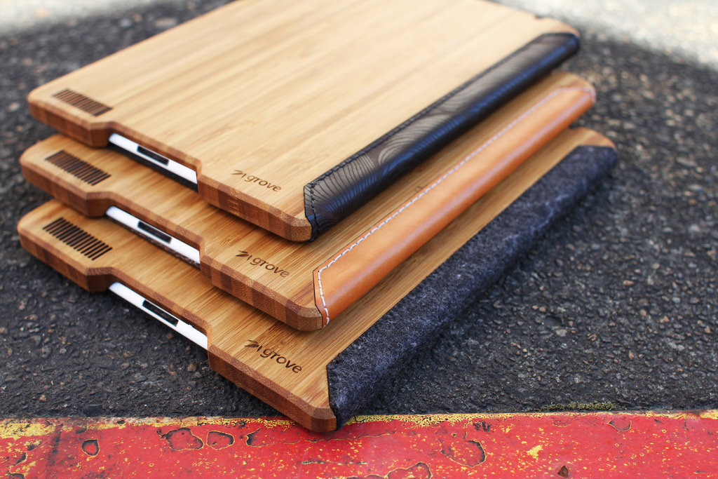 Grove Bamboo iPad Case