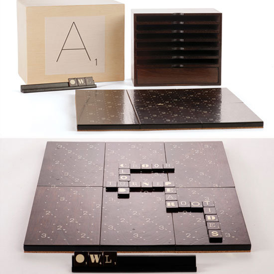Scrabble Typography Limited Edition ($200)