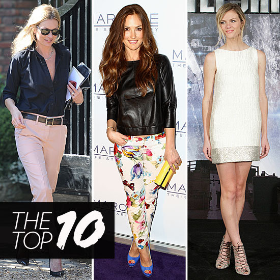 Fab's Top 10 Celebrity Looks of the Week — Brooklyn, Minka, Kate, and More!
