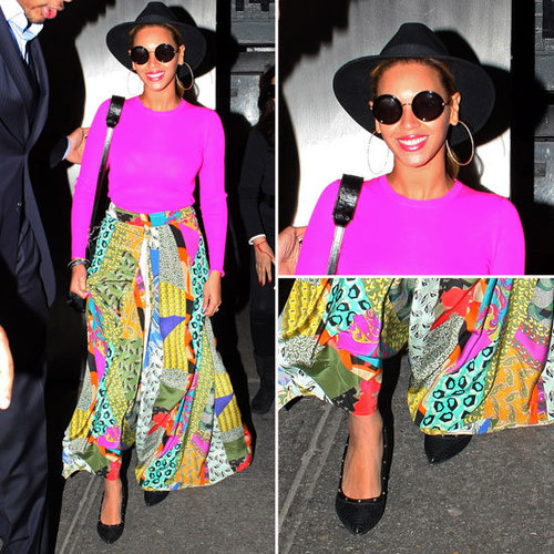 Celeb Style: Beyoncé Makes Pulling Off Spring Brights Look Easy (So Can You!)