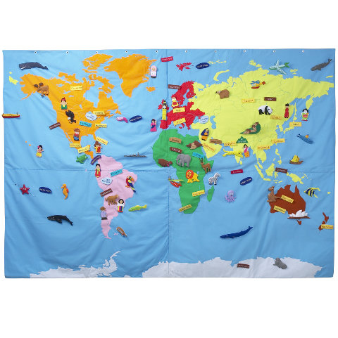 Conran Shop Giant World Map ($478)