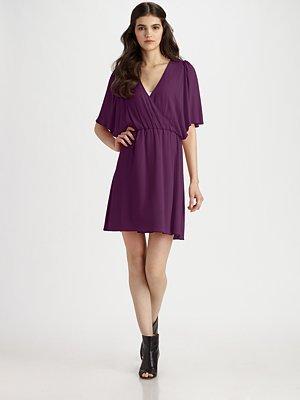 Alice + Olivia - Casey Dolman Sleeve Dress