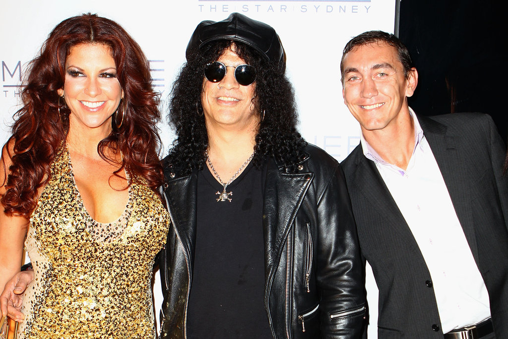 Perla Hudson, Slash and Mat Rogers