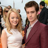 Emma Stone and Andrew Garfield Pictures Kids&#039; Choice Awards