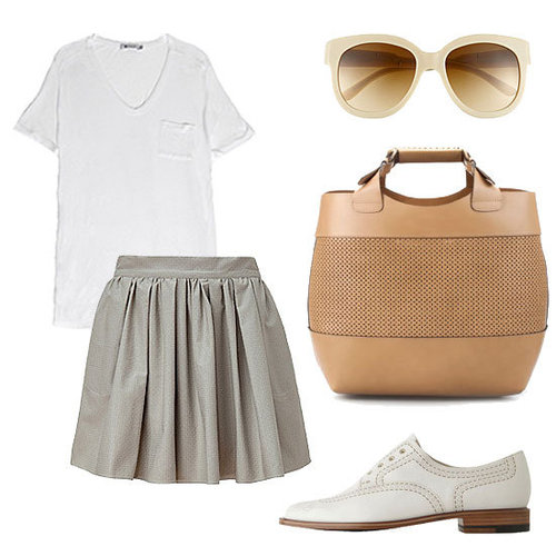 30 Ways to Wear Your White T-Shirt