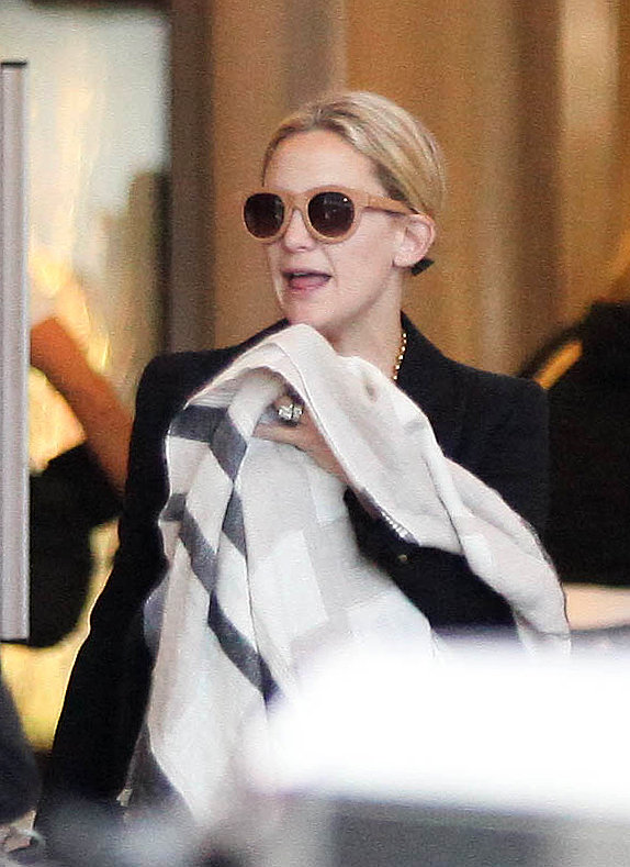 Kate Hudson Returns Home to LA With Her Main Men Ryder and Bingham