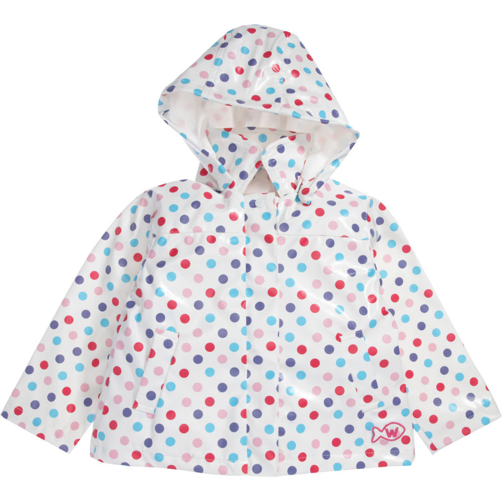 Weekend a la Mer Dot Raincoat ($106)