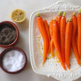 Steamed Carrots With Olive Oil and Lemon Recipe