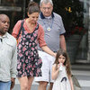 Katie Holmes and Suri in Louisiana Pictures