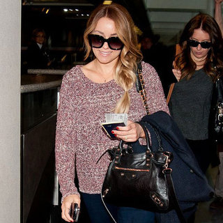 Lauren Conrad Pictures at LAX