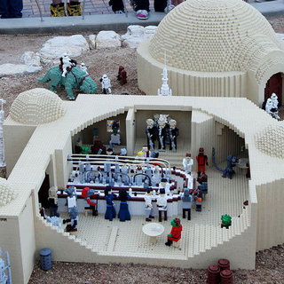 Star Wars Miniland at Legoland