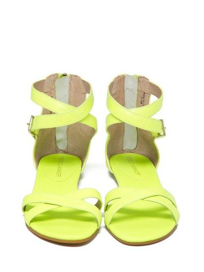 If you're going to wear flat sandals to a party, make sure they're these. Rebecca Minkoff Bettina Sandals ($125)