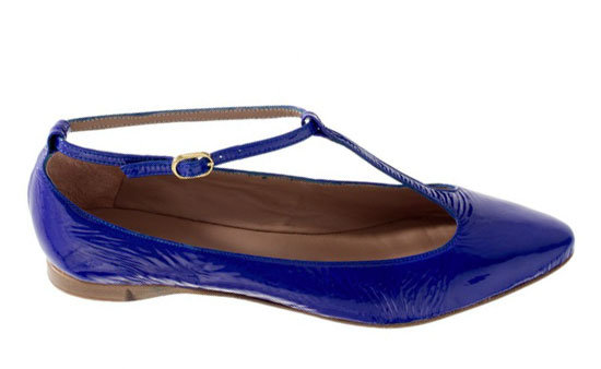 Go for a more classic shape with a T-strap ballet flat. Avril Gau Bimi Flats ($189)