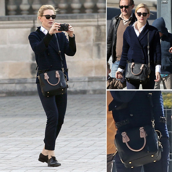 Playing Tourist? Copy Cate Blanchett's Parisian Chic