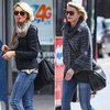 Cameron Diaz Black Aviator Sunglasses