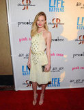 Kate Bosworth at the Life Happens premiere.