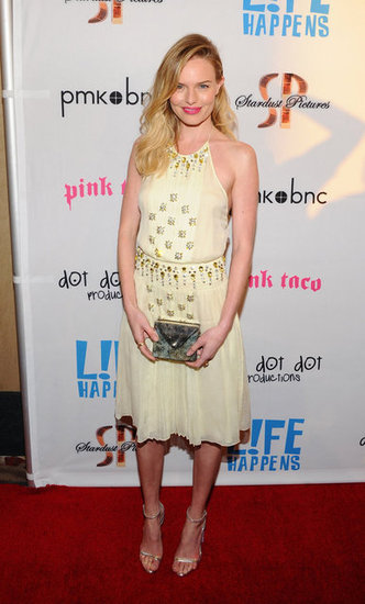 Kate Bosworth Goes Mellow For Her L!fe Happens Premiere