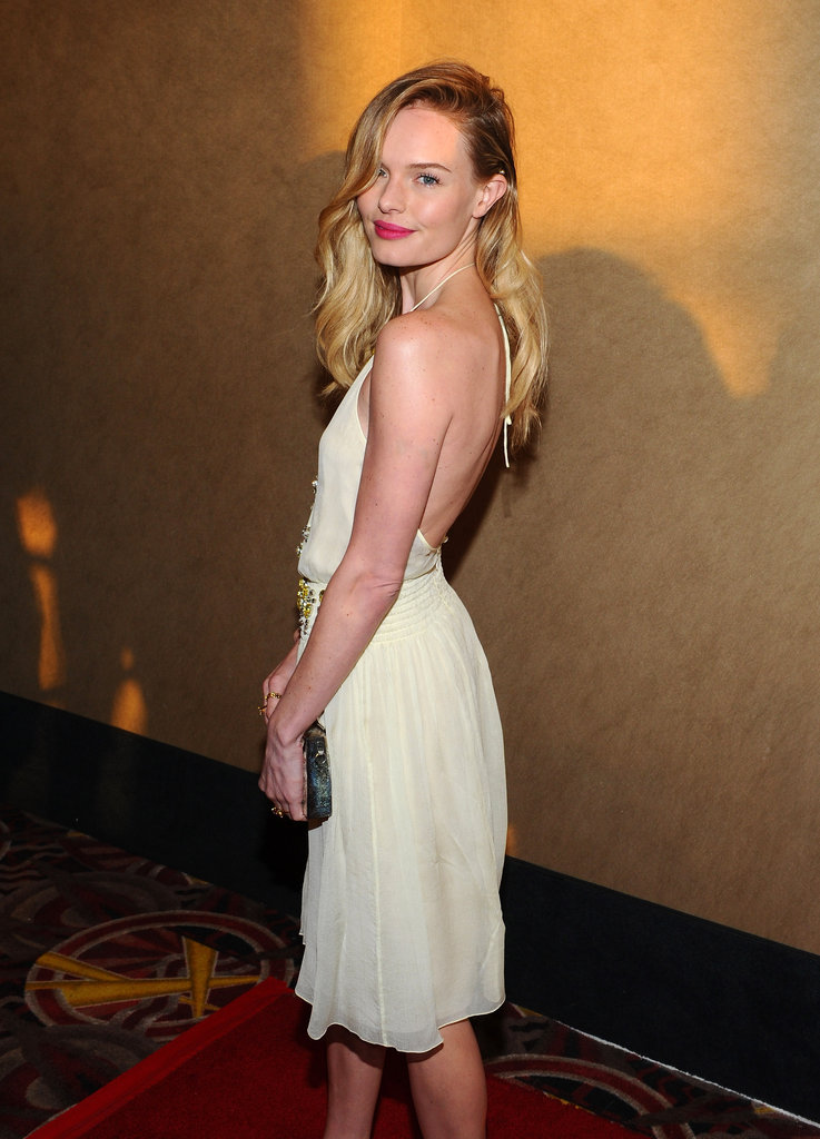 Kate Bosworth posed at the premiere of Life Happens in Century City.