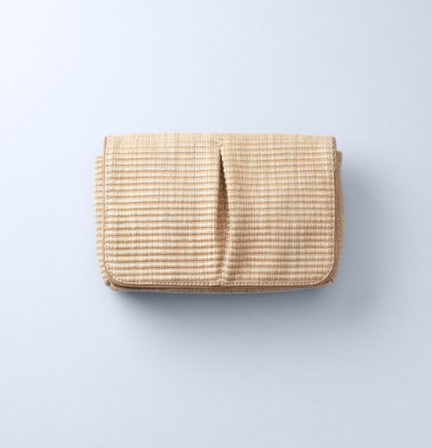 Pair this seasonal clutch with your pastel party dresses. Loft Corded Straw Pleated Clutch ($40)