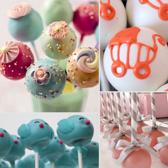 cake pop decorating ideas for baby shower